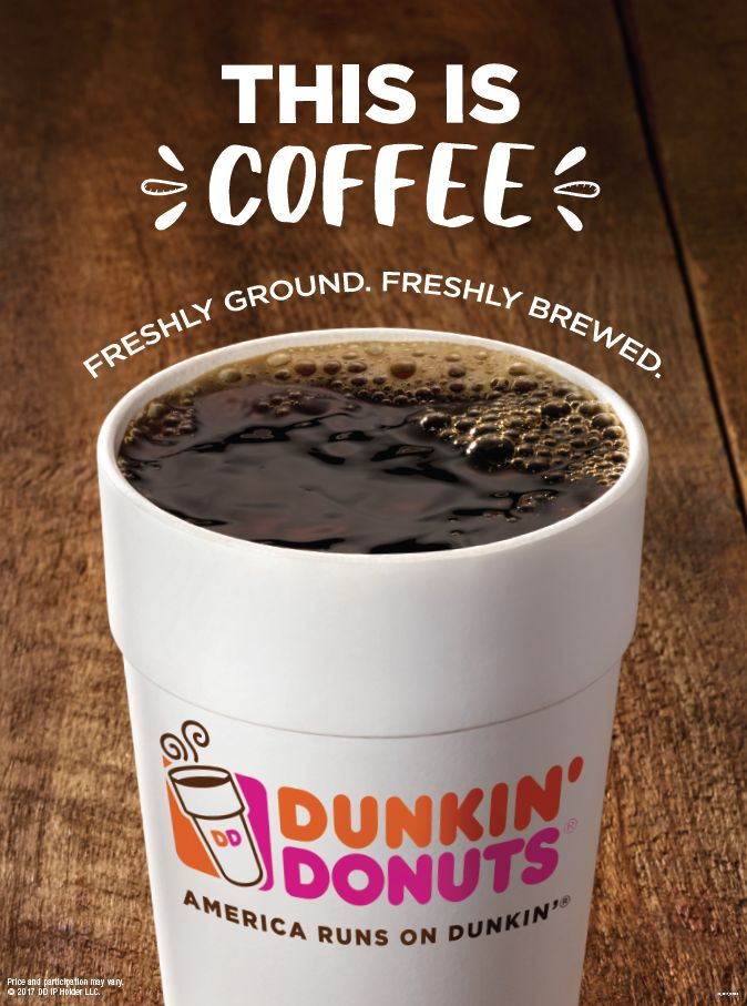 Sip, Peel, Win! Dunkin' Donuts Coffee Drinkers are Winners  with New Peel & Reveal On-Cup Program