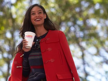 "Dunkin' Donuts And Rue La La Present Fall Style for the ""On-the-Go Girl"""