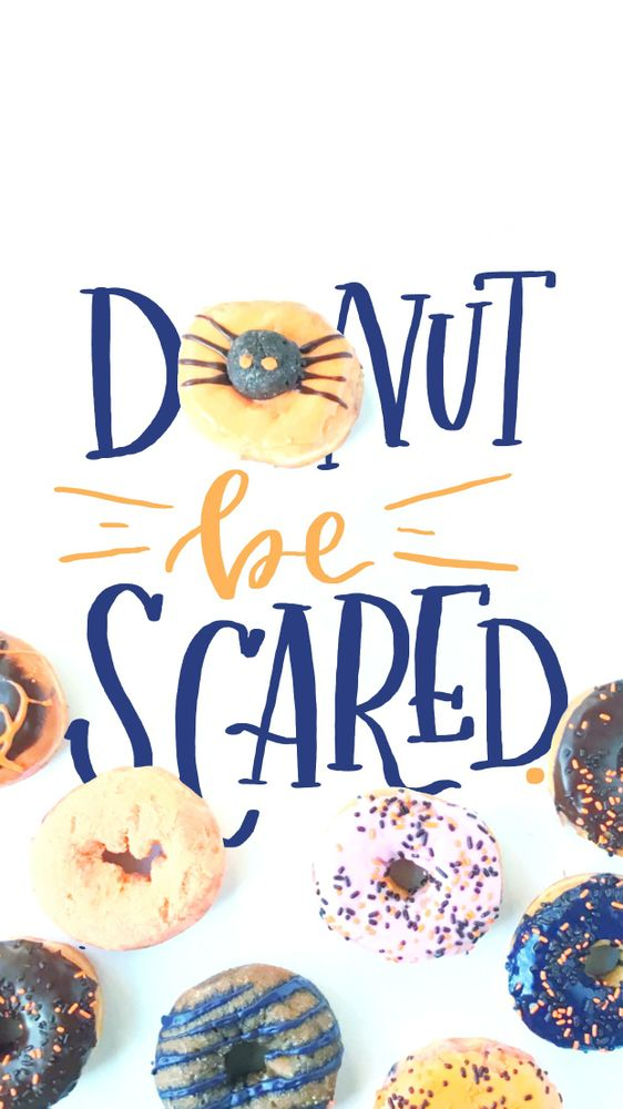 DonutBeScared for iPhone6 Plus