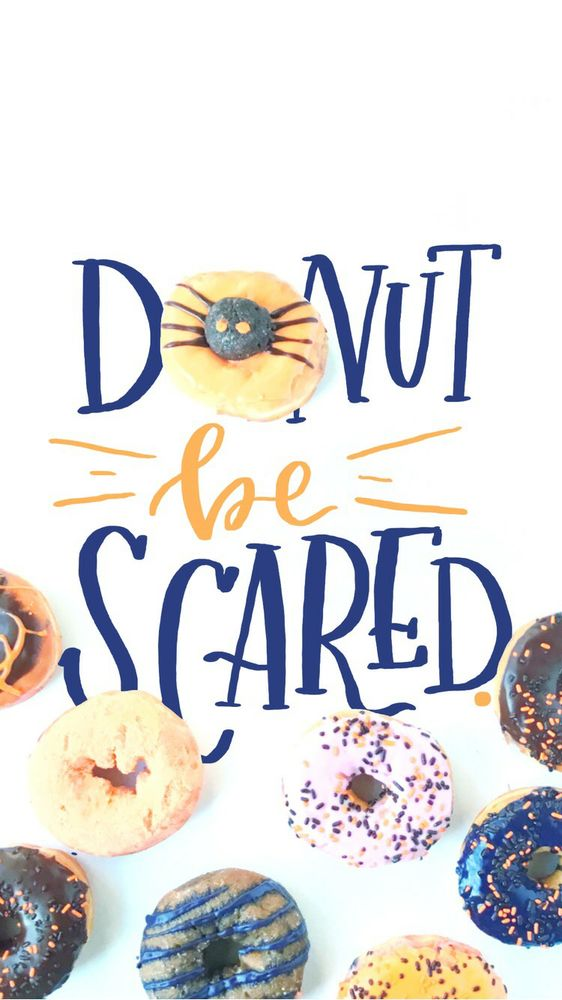 DonutBeScared for iPhone6