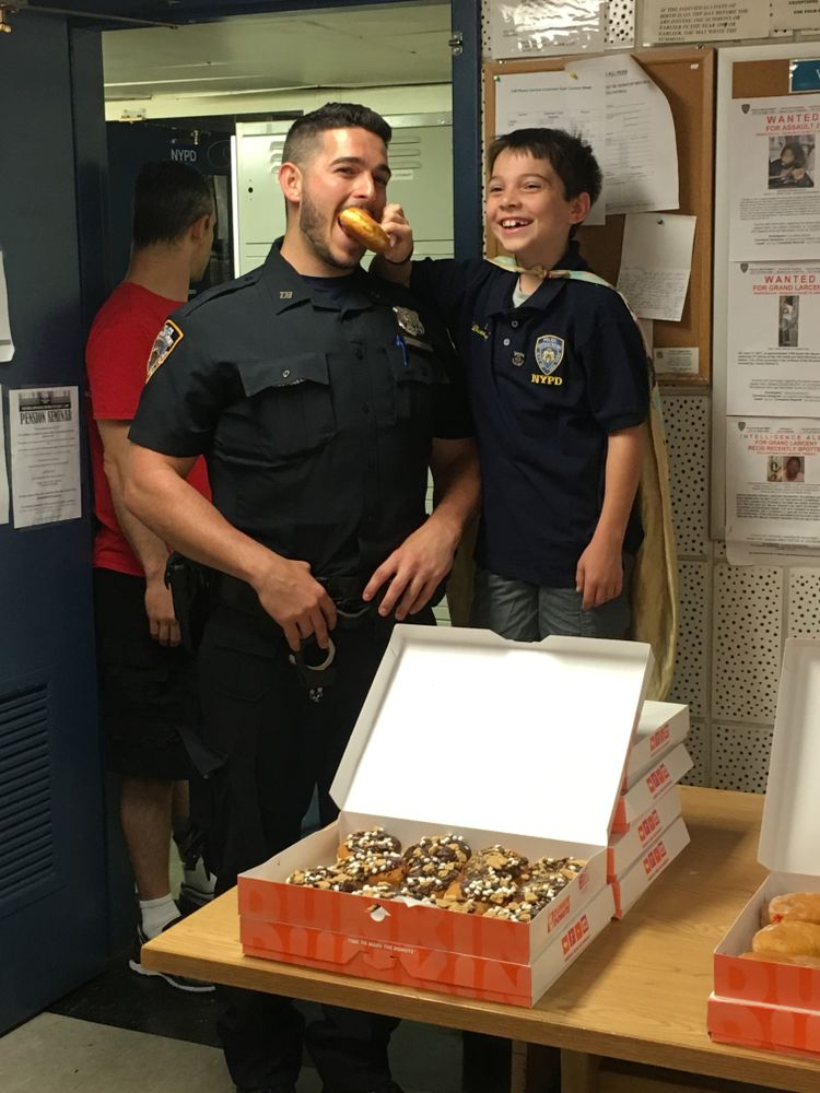 Donut Boy Continues His Mission to Thank Every Cop in America with Donuts