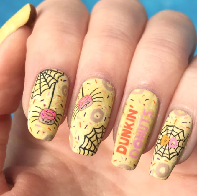 Check Out These DIY Beauty Styles Inspired by Our Halloween Donuts