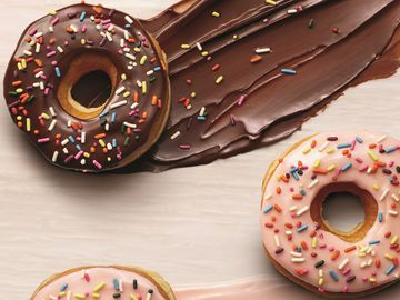 Dunkin' Donuts Removes Artificial Dyes from All Donuts