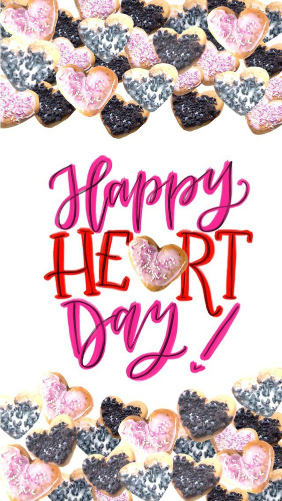 Happy Heart Day for iPhone 5