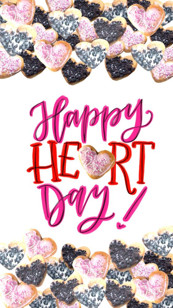 Happy Heart Day for iPhone 6plus