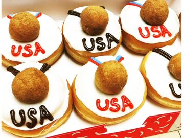 Score Dunkin's New Donut Celebrating USA Hockey