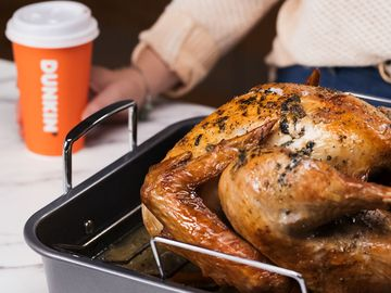 Check Out This Recipe for Our Dunksgiving Espresso-Brined Turkey