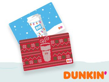 Dunkin' Delivers a Dozen Days of Joy to Celebrate the Holiday Season