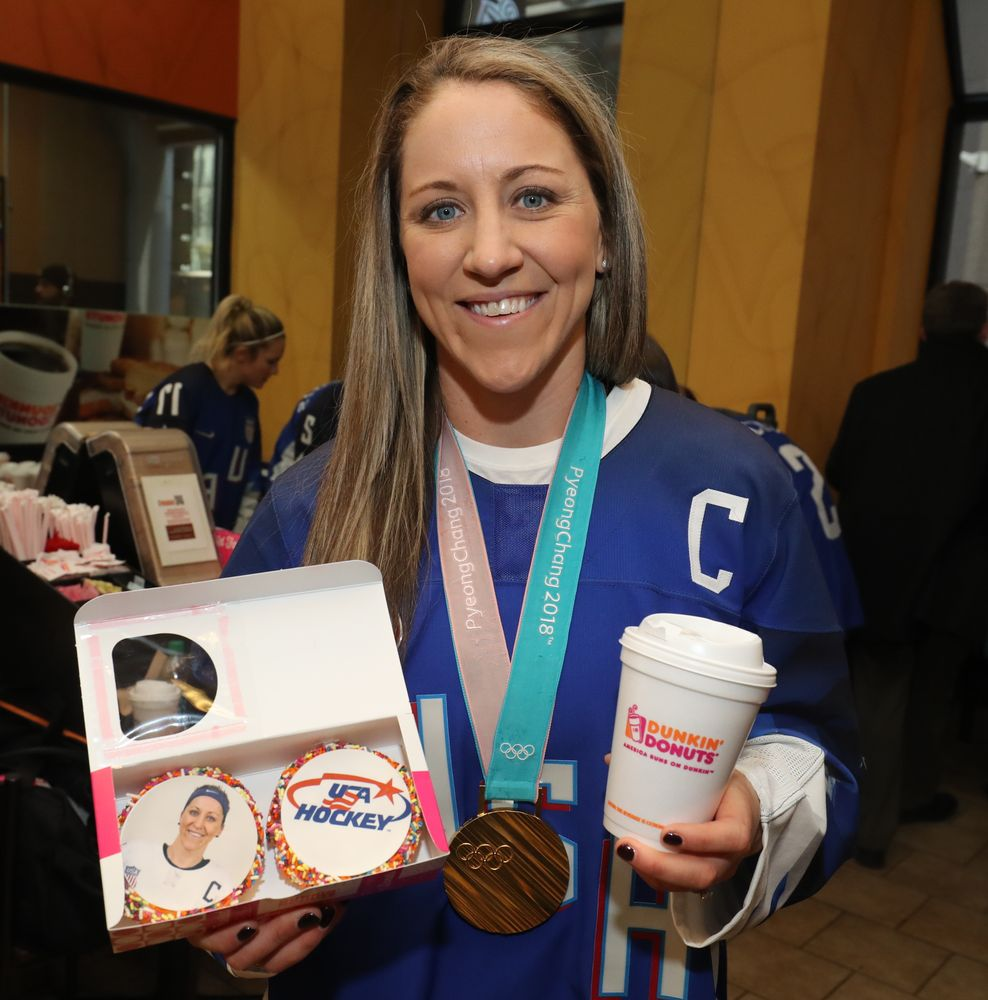 U.S. Women's Hockey Captain Meghan Duggan on That Historic Win
