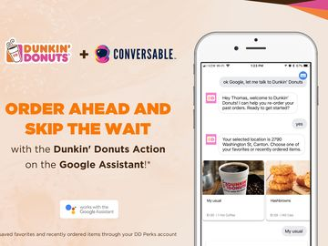 The Google Assistant X Dunkin' Donuts