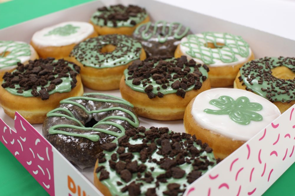 Share How You're Celebrating St. Patrick's Day for the Chance to Win a Year's Supply of Dunkin' Donuts