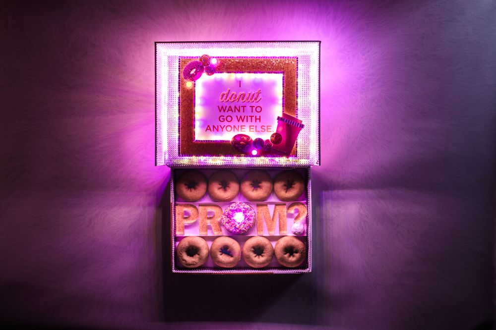 How to Get Your Hands on the Ultimate Dunkin'-Inspired Promposal Box