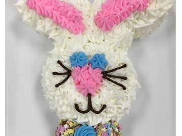 Celebrate Easter with this DIY Pull-Apart Bunny Donut Cake