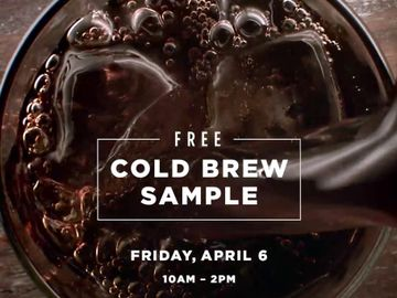 How to Get Free Cold Brew this Week at Dunkin' Donuts
