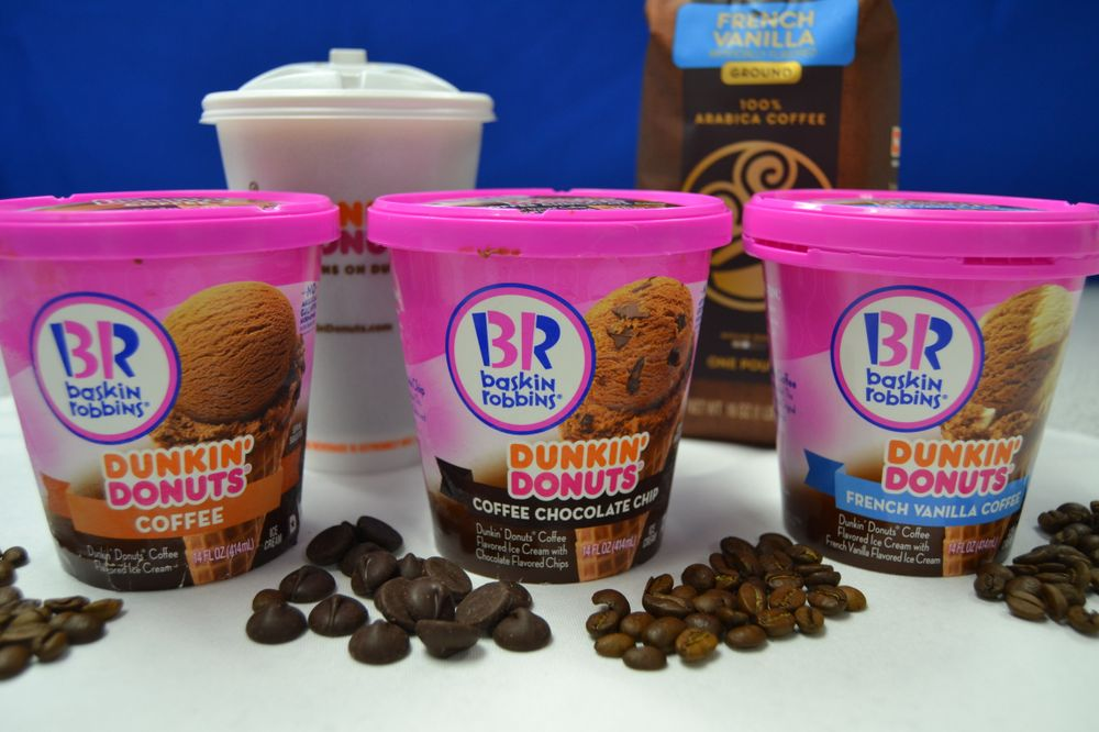 Introducing Dunkin' Donuts Coffee Inspired Ice Cream Flavors from Baskin-Robbins