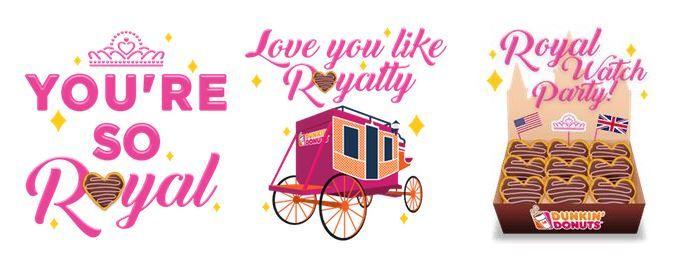 Royal Love Emojis x3