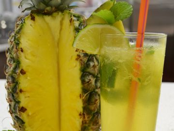 This Pineapple COOLATTA®  Cocktail Is Just What You Need This Long Weekend