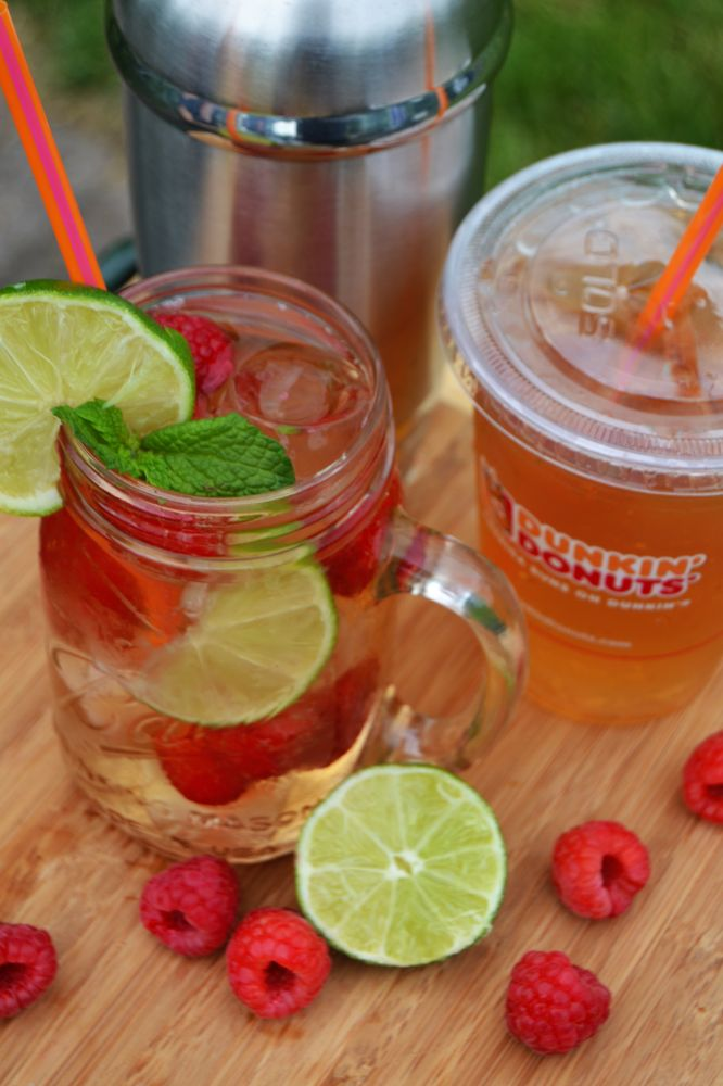 Celebrate Iced Tea Day with This Spiked Raspberry Lime Iced Tea Recipe