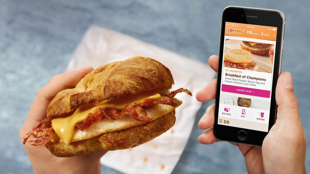 Introducing the Newly Redesigned Dunkin' Mobile App