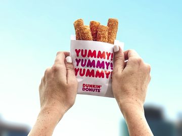 This National French Fry Day, Dunkin' Donuts is Giving Away Free Donut Fries at Select Locations