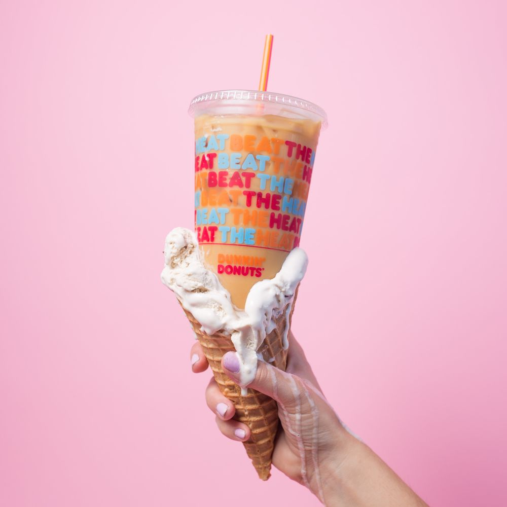 We Are Celebrating Our Fans with Free Ice Cream Inspired Coffee at Select DD Locations This Summer