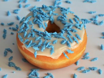 Sink Your Teeth into Our Shark Bite Donut