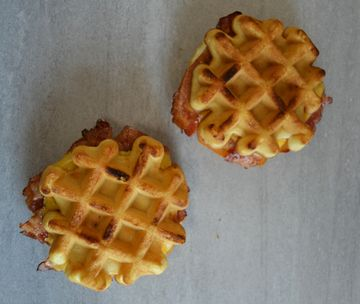 The Story Behind our Belgian Waffle Breakfast Sandwich for