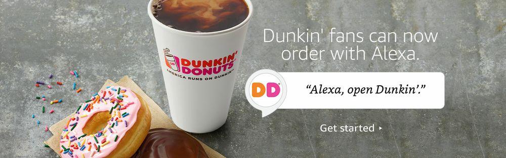 Dunkin' Donuts Skill for Amazon Alexa