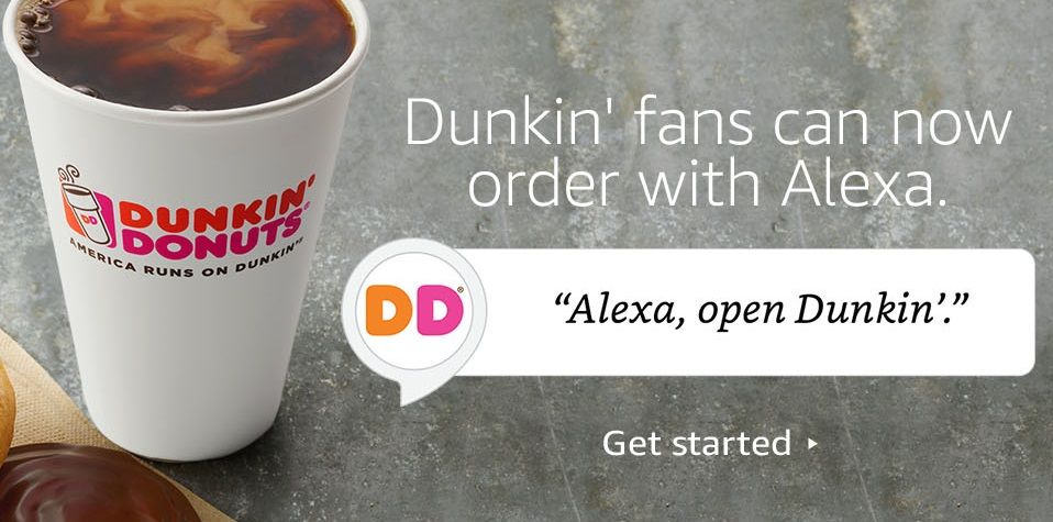 How to Order Dunkin' On-the-Go Mobile Ordering Through Amazon Alexa