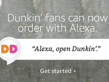 """Alexa, Order from Dunkin' Donuts"": Dunkin' Donuts Expands Order-Anywhere Accessibility with Amazon Alexa Integration"