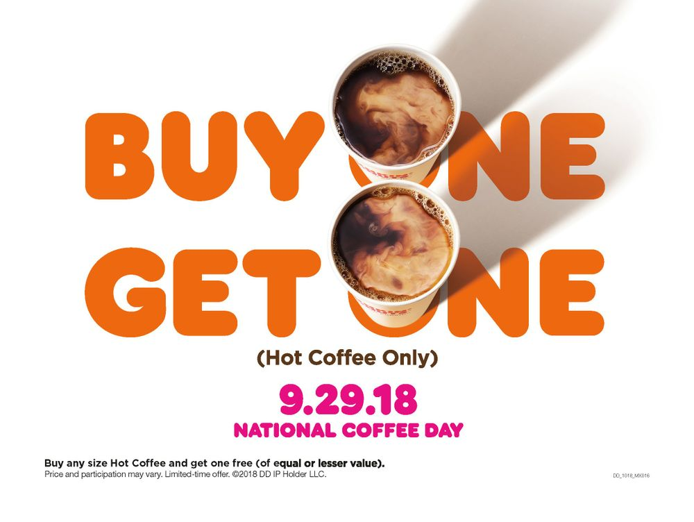 National Coffee Day Offer Image
