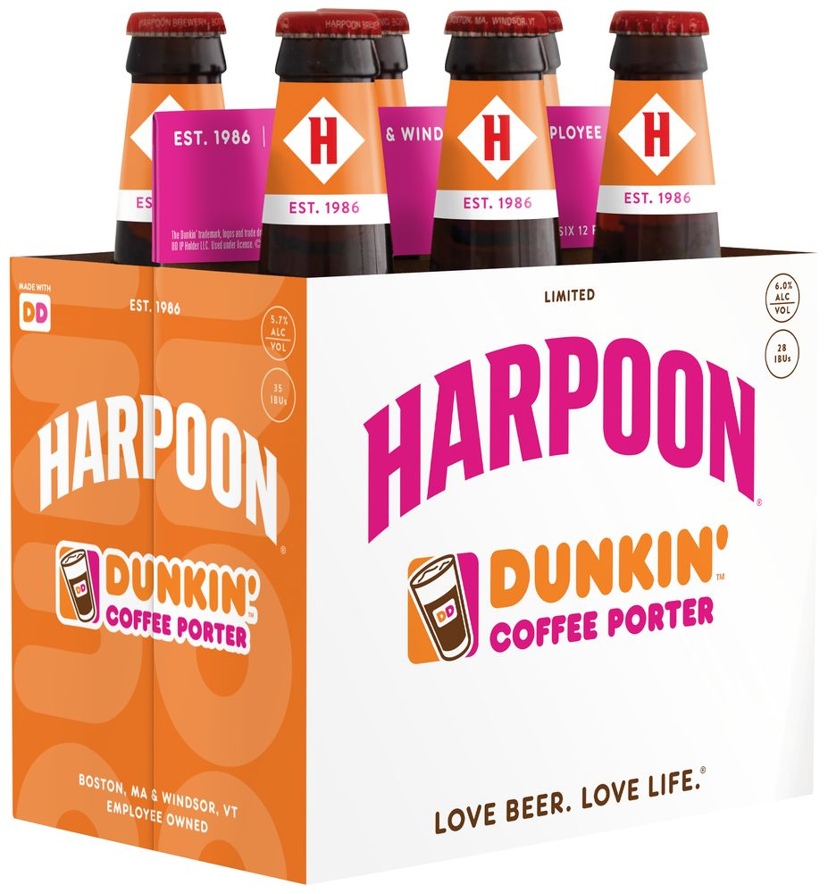 Dunkin' and Harpoon Brewery Launch a New Taste for Fall:  Harpoon Dunkin' Coffee Porter