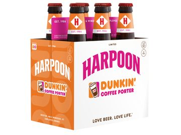 Dunkin Harpoon Coffee Porter