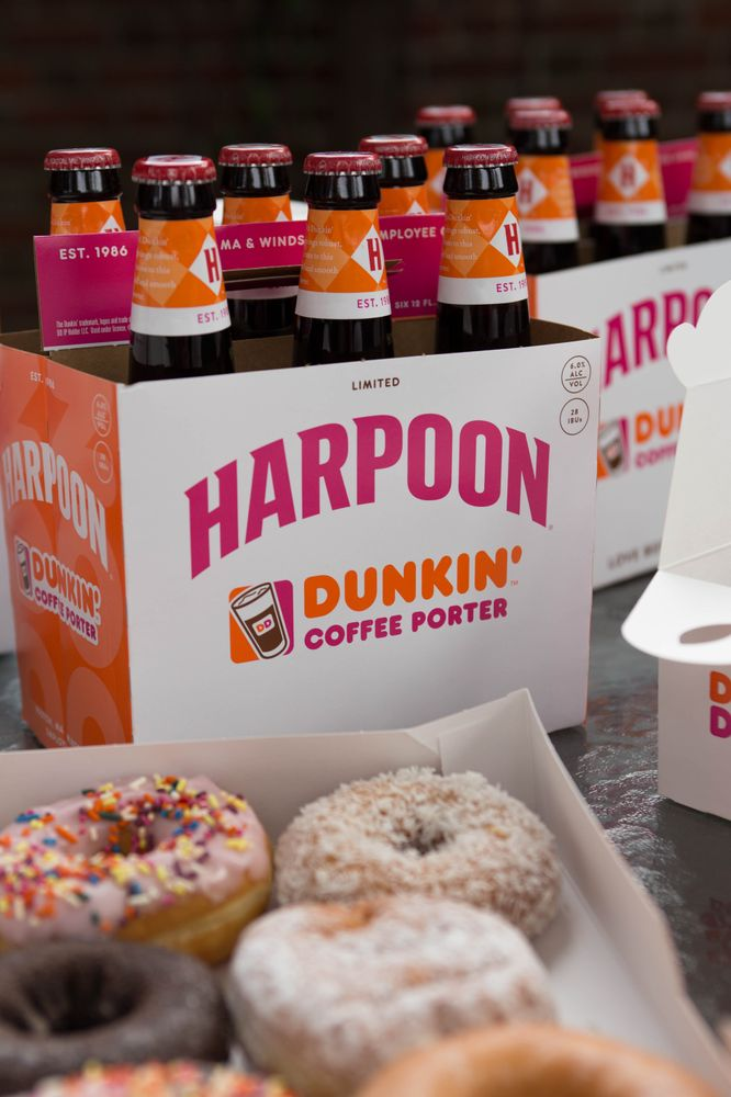Dunkin Harpoon Coffee Porter 2