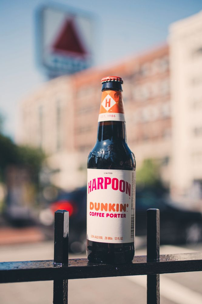 Harpoon Dunkin Coffee Porter 8