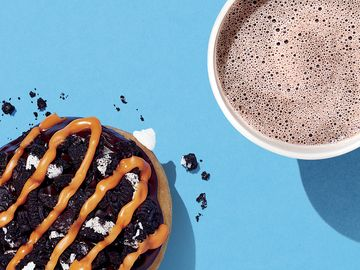 OREO Donut and OREO Hot Chocolate Lifestyle 2
