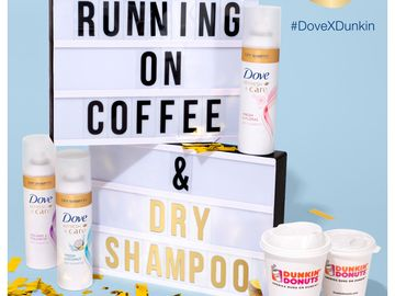The Ultimate Life Hack: A Year's Supply of Coffee and Dry Shampoo