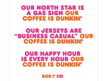 The Story Behind our New Campaign: Boston Runs on Dunkin'