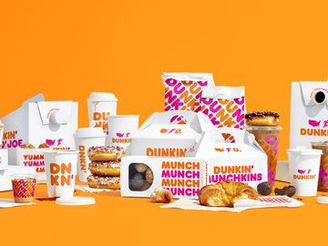 New Dunkin Packaging