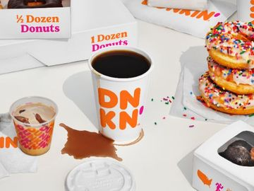 We're Making It Official: Dunkin' Rolls Out New Branding