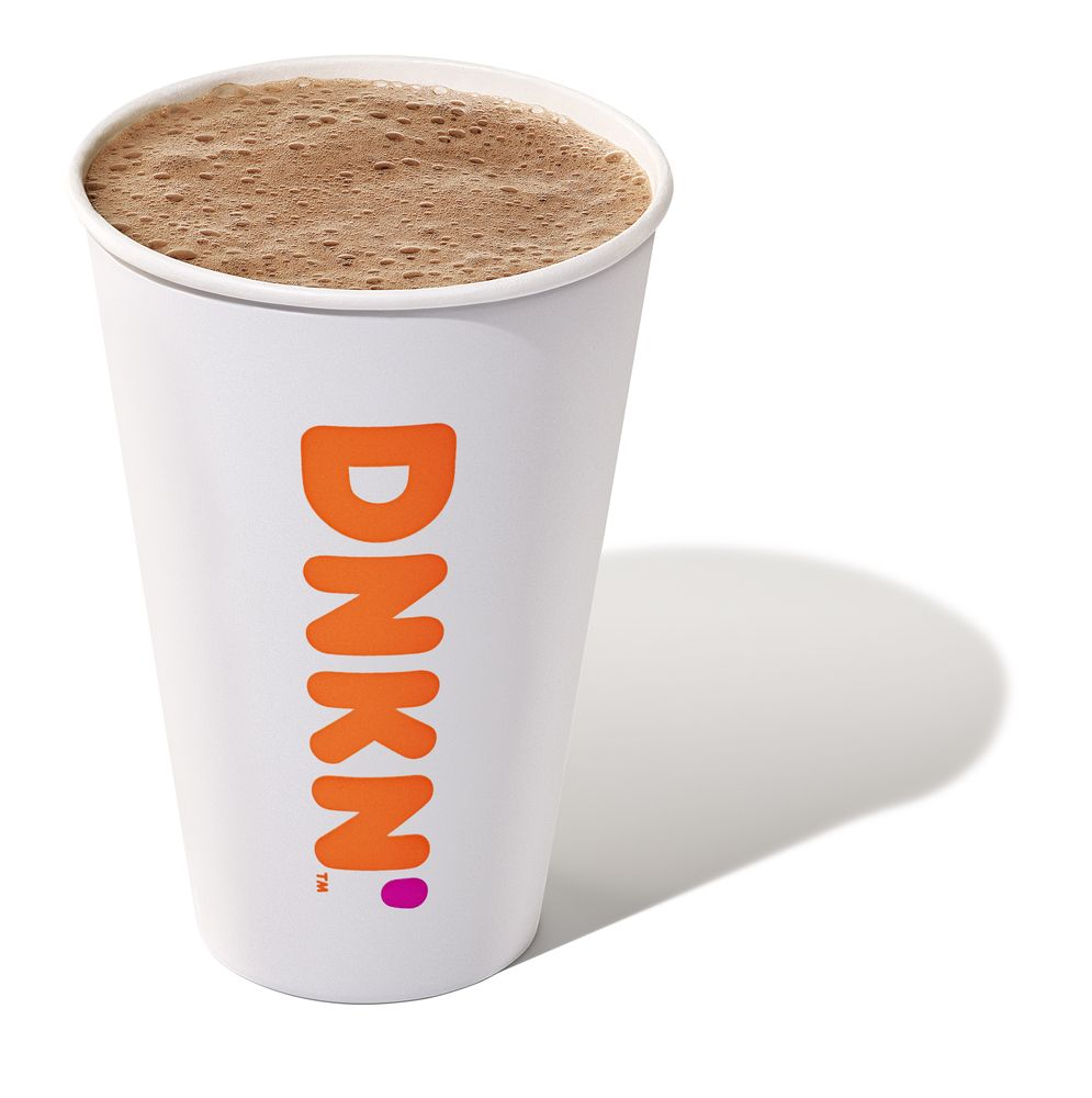 Warm Up for National Hot Chocolate Day with Dunkin'