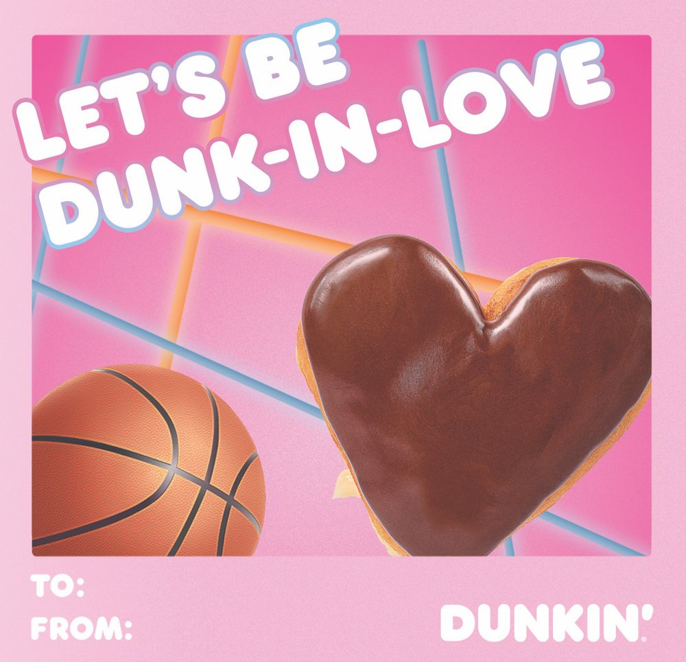Lets be Dunkin love
