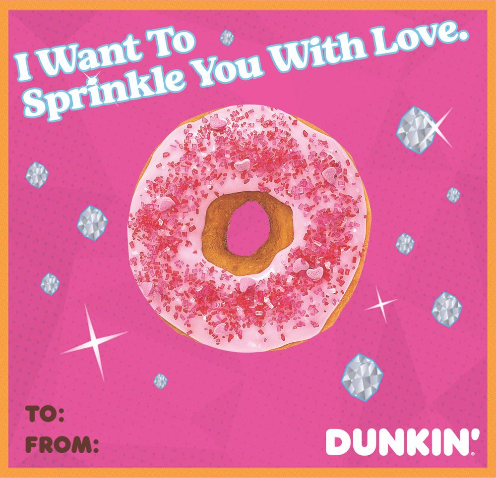 Sprinkle you with love