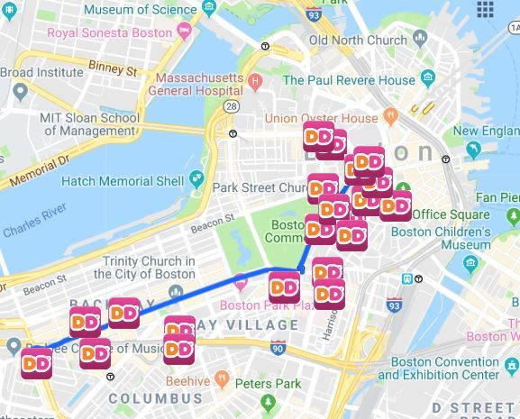 How to Run on Dunkin' During the 2019 Patriots Parade