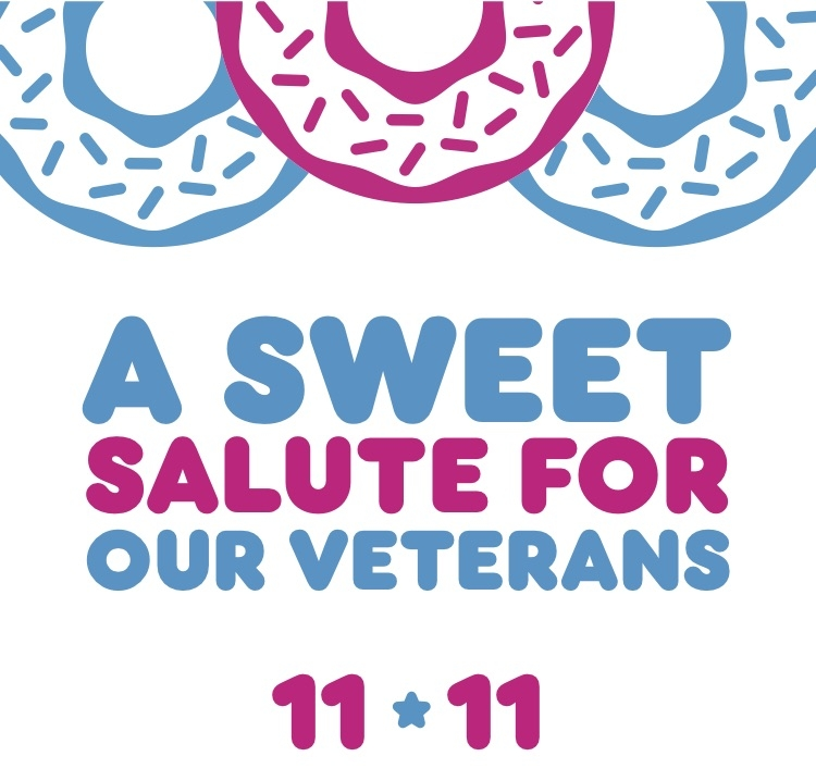 This Veterans Day Dunkin' Serves Up Free Donuts to Those Who Served