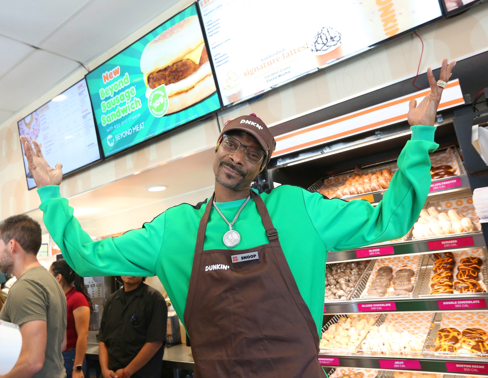 Introducing our Dunkin' Employee of the Month: Snoop Dogg