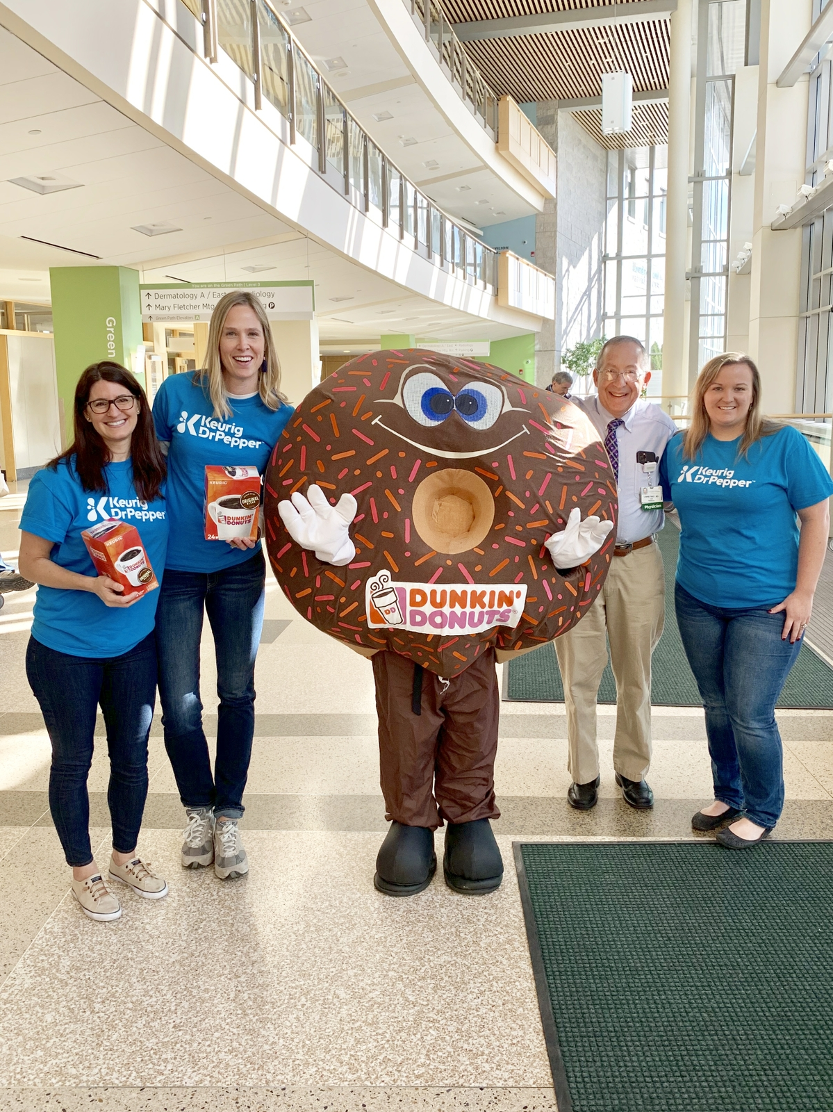 The Dunkin' Joy in Childhood Foundation, Keurig and JM Smucker team up to deliver Dunkin' K-Cup Pods® to pediatric hospital oncology units