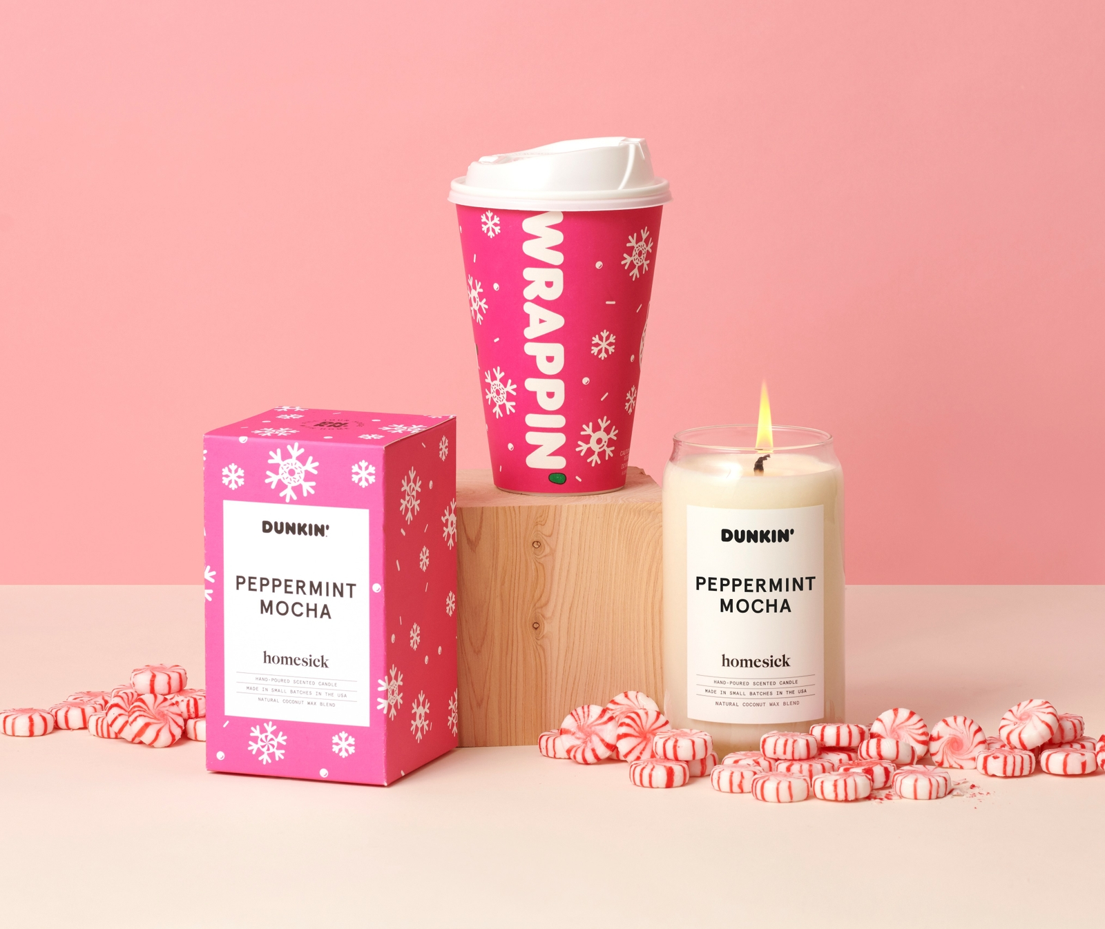 The Story Behind The Homesick x Dunkin' Candle Collection