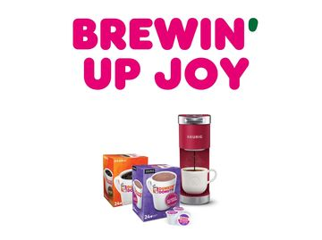 Brew Up Joy with Dunkin' x Keurig Holiday Bundles