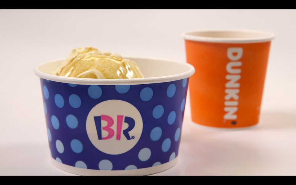 "Ice Cream and Espresso Fans ""Gotta Affogato"" to Baskin-Robbins and Dunkin' for Their New Combination Menu Treat"
